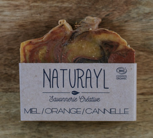 Savon Miel/Orange/Cannelle Naturayl
